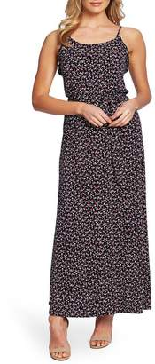 Cynthia Steffe CeCe by Marrakesh Ditsy Sleeveless Maxi Dress