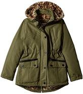 Urban Republic Kids - Ballistic Anorak with Faux Fur Lining Girl's Coat