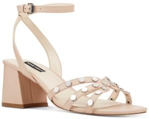 Nine West Gale Studded Sandals Women's Shoes