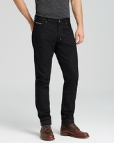 PRPS Goods & Co. Jeans - Fury Selvedge New Tapered Fit in Black Raw