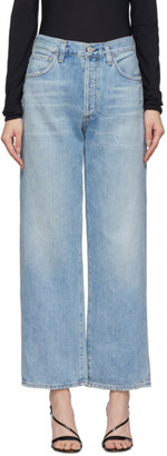 Citizens of Humanity Blue Joanna Relaxed Vintage Jeans