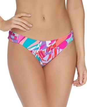 Raisins Juniors' Curitiba Triple-Side-Strap Bikini Bottoms Women's Swimsuit