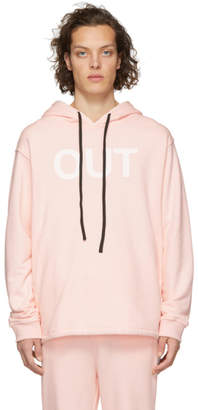 Double Rainbouu Pink Out Now Couch Surf Hoodie