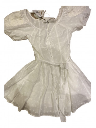 Innika Choo White Cotton Dresses
