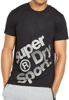 Superdry Gym Base Sprint Runner Men's T-Shirt m10002pm-02a (Size 2X)