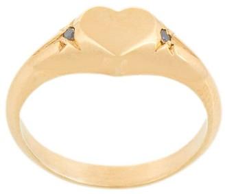 MEADOWLARK Heart Signet Ring