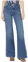 Wrangler Modern Fly High Flare (Russet) Women's Jeans