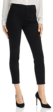7 For All Mankind JEN7 by Skinny Ankle Jeans in Classic Black Noir