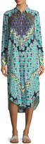 Mara Hoffman Women's Rug Printed Dress