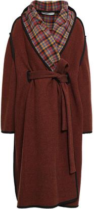 Philosophy di Lorenzo Serafini Belted Wool-blend Twill Coat