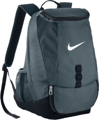 Nike Club Team Swoosh Backpack - Flint Grey / Black White