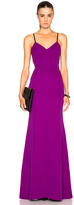 Victoria Beckham Double Crepe Camisole Gown