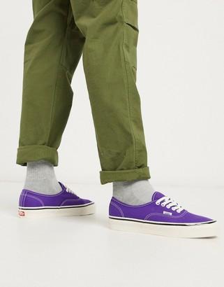 Vans Anaheim Authentic 44 DX sneaker in bright purple