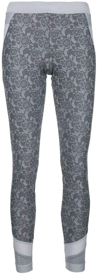 adidas by Stella McCartney lace print leggings