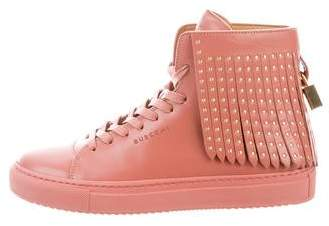 Buscemi Embellished High-Top Sneakers