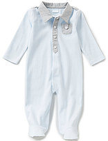 Edgehill Collection Baby Boys Newborn-6 Months Footed Coverall