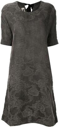 UMA WANG floral pattern midi dress