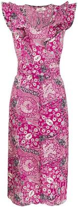 Etoile Isabel Marant Coraline floral midi dress