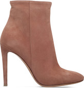 Gianvito Rossi Dree suede ankle boots