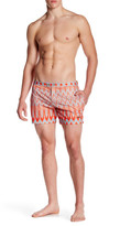 "Parke & Ronen Lido Print Stretch Short - 5"" Inseam"
