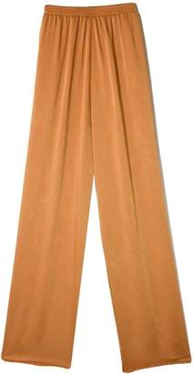 Forte Forte Crash Satin Elasticated Pants in Oro