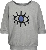 Kain Label Tali printed cotton-blend jersey sweatshirt