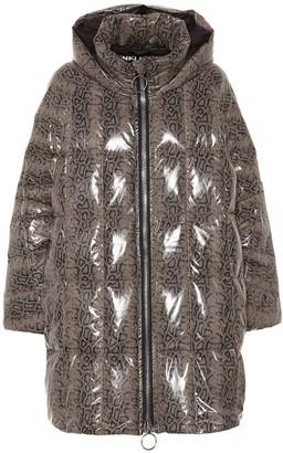 Ienki Ienki Cropped Pyramide puffer coat