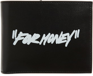 Off-White Quote Bifold Leather Wallet