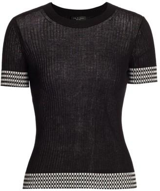 Rag & Bone Arctic Check T-Shirt