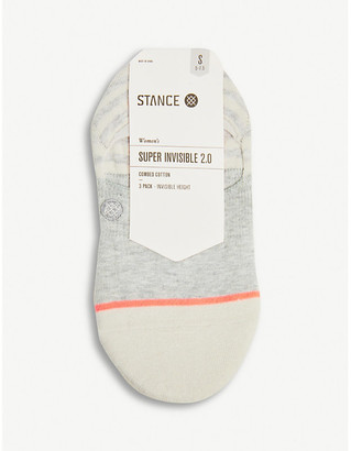 Stance Sensible pack of three cotton-blend socks