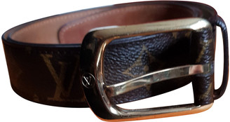 Louis Vuitton Brown Other Belts