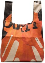 Thumbnail for your product : Our Legacy Biker print Grocery Bag tote