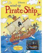 USBORNE Wind-Up Pirate Ship Book