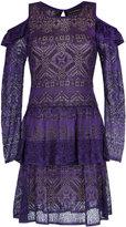 Cecilia Prado cold shoulder dress - women - Acrylic/Viscose - P