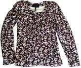 Isabel Marant Burgundy Cotton Jacket
