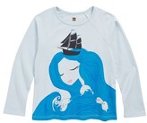 Tea Collection Toddler Girl's Selkie Graphic Tee