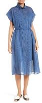 Rachel Comey Women's Oasis Banker Stripe Midi Dress