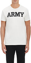 Nlst Men's Army Jersey T-Shirt-White Size S