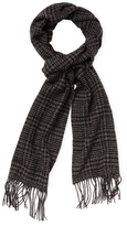 John Varvatos Glen Plaid Scarf