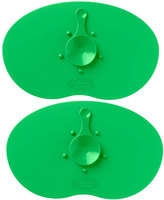 Tommee Tippee Green Easi Mat Feeding Placemat - Set of Two