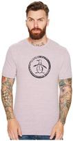 Original Penguin Tri-Blend Circle Logo Tee Men's T Shirt