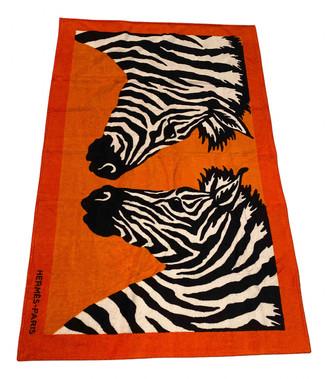 Hermes Orange Cotton Swimwear