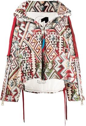 KHRISJOY Khris Navajo quilted jacket