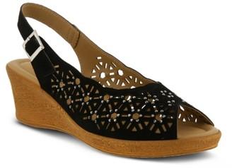 Spring Step Saibara Wedge Sandal