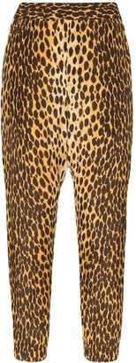 R 13 Cheetah-Print Harem Trousers