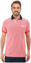 U.S. Polo Assn. Solid Pique Polo Shirt w/ Contrast Collar
