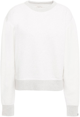 Rag & Bone Melange French Cotton-terry Sweatshirt