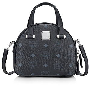 MCM Essential Visetos Mini Dome Satchel