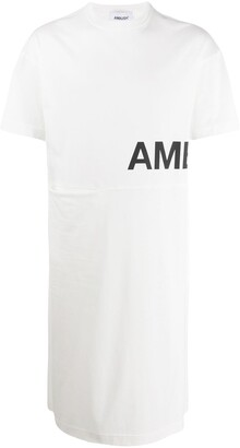 Ambush long-line logo-print T-shirt