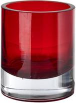 Pols Potten Light Glass Tealight Holder - Red